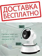 Цифровая Камера Wi-Fi Поворотная Wi Fi IP-камера 360 видеонаблюдения / Видеоняня / Ночное виденье!