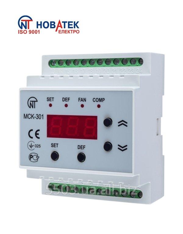 Блок управления МСК-301-8 средне и низкотемпературными холодильными машинами