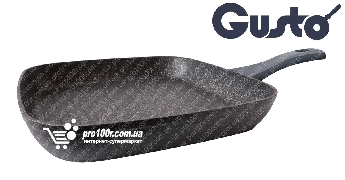 Сковорода гриль 28 см Gusto Marble GT-2304-28