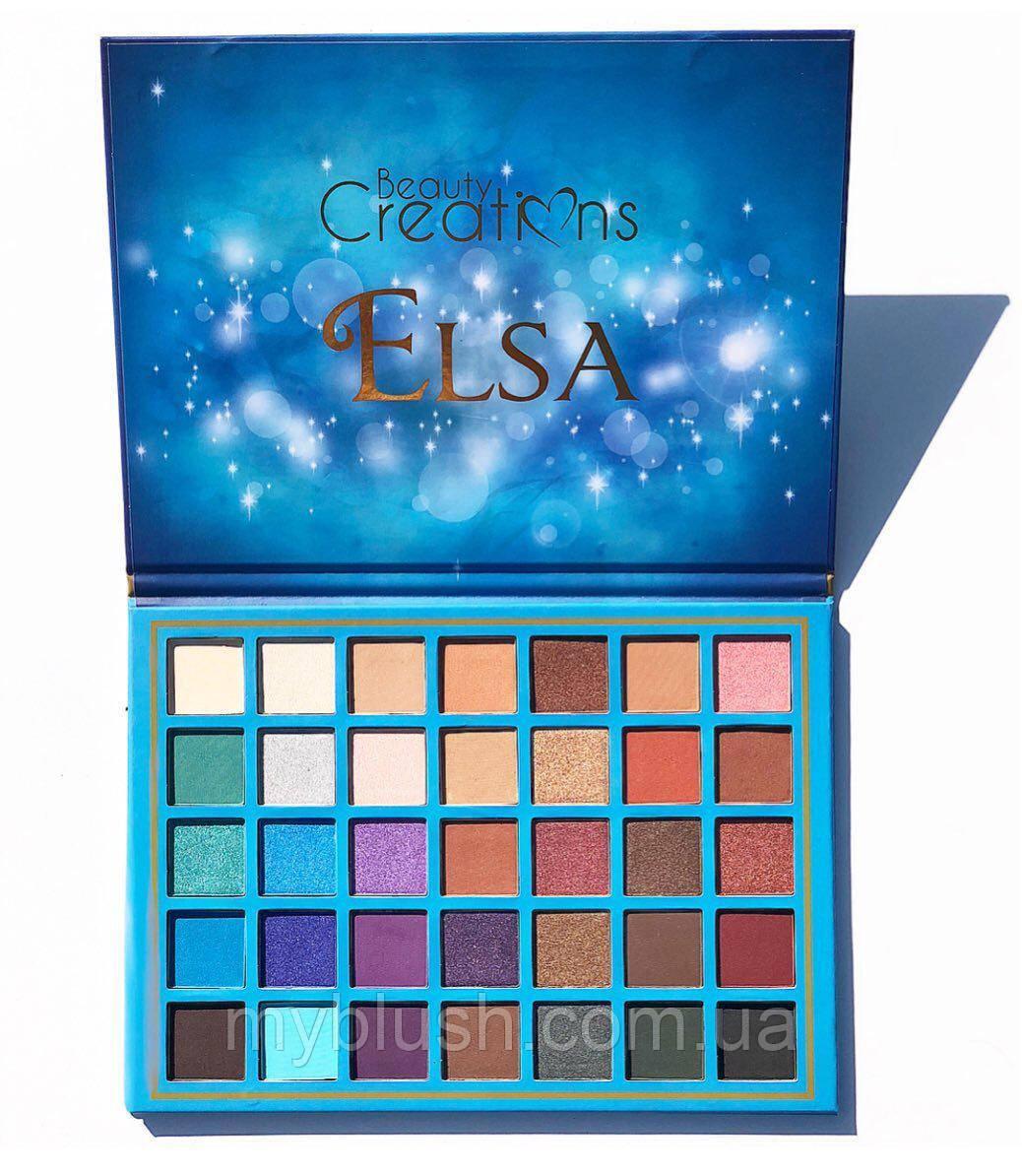 Тени для глаз Beauty Creations ELSA 35 цветов
