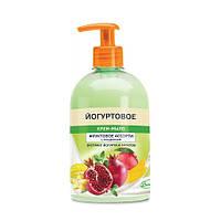 Крем мыло Йогуртовое 500г доз. глицерин фрукт (4820023206427)