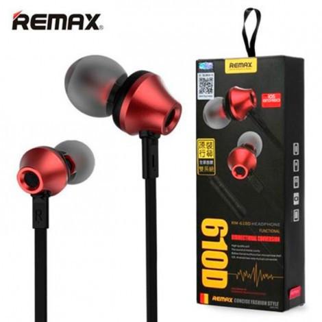 Наушники вакуумные Remax RM - 610 D +mic (гарнитура)