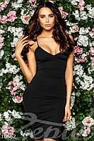 Облегающее открытое платье Gepur 16852