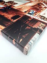Модульная картина, холст, Город ночью, 62x95см.  (30x30-6), фото 3