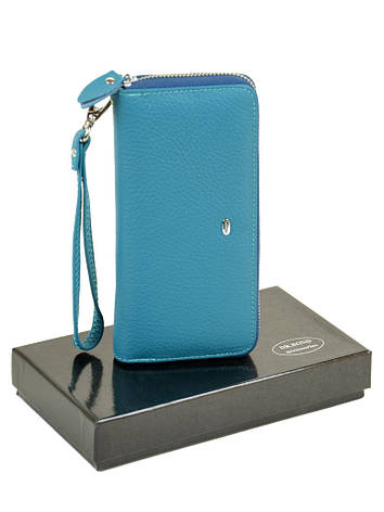 Кошелек Classic кожа DR. BOND W38 голубой, фото 2