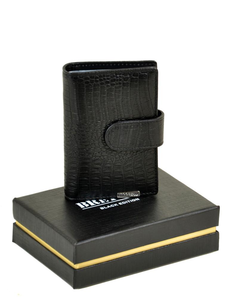 Мужской кошелек SPA кожа BRETTON M4203 черный