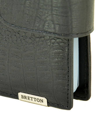 Мужской кошелек SPA кожа BRETTON M4203 черный, фото 2