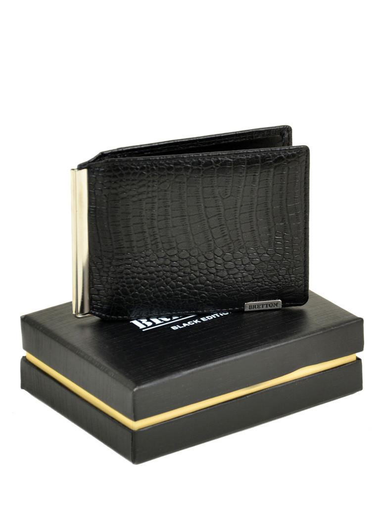Чоловічий гаманець SPA шкіра BRETTON M3242 чорний
