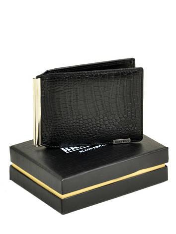 Мужской кошелек SPA кожа BRETTON M3242 черный, фото 2