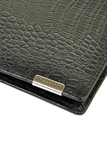 Чоловічий гаманець SPA шкіра BRETTON M3242 чорний, фото 2