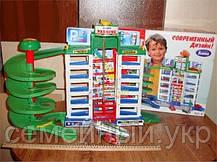 Паркинг детский с лифтом для машинок. 6 этажей. 4 машинки в комплекте. Код/Артикул 922, фото 2