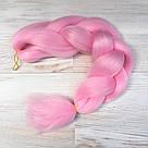 Канекалон цветной, нежно розовый 💗, фото 7