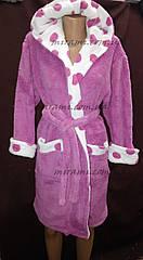 Теплый женский халат отличного качества