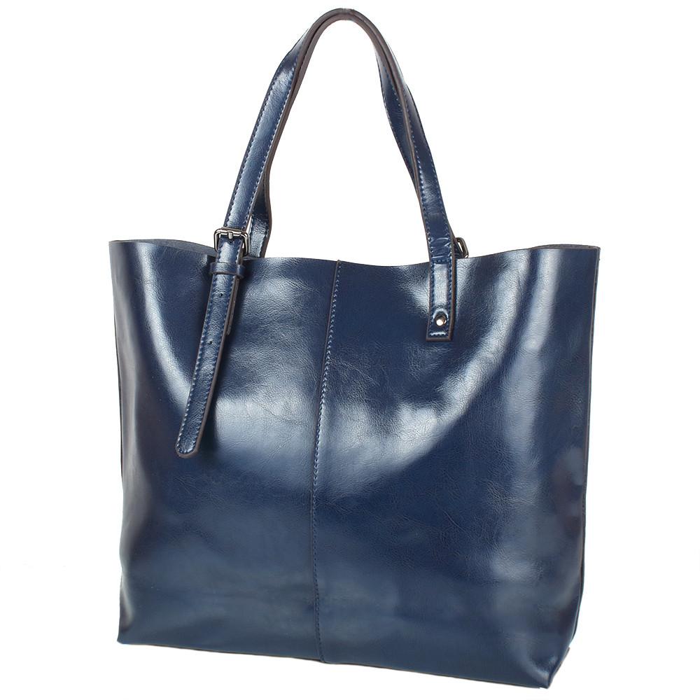 Женская кожаная сумка ETERNO (ЭТЕРНО) RB-GR2011NV, синяя