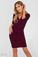 Платье с драпировкой Gepur 29196