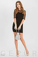 Короткое праздничное платье Gepur 29183
