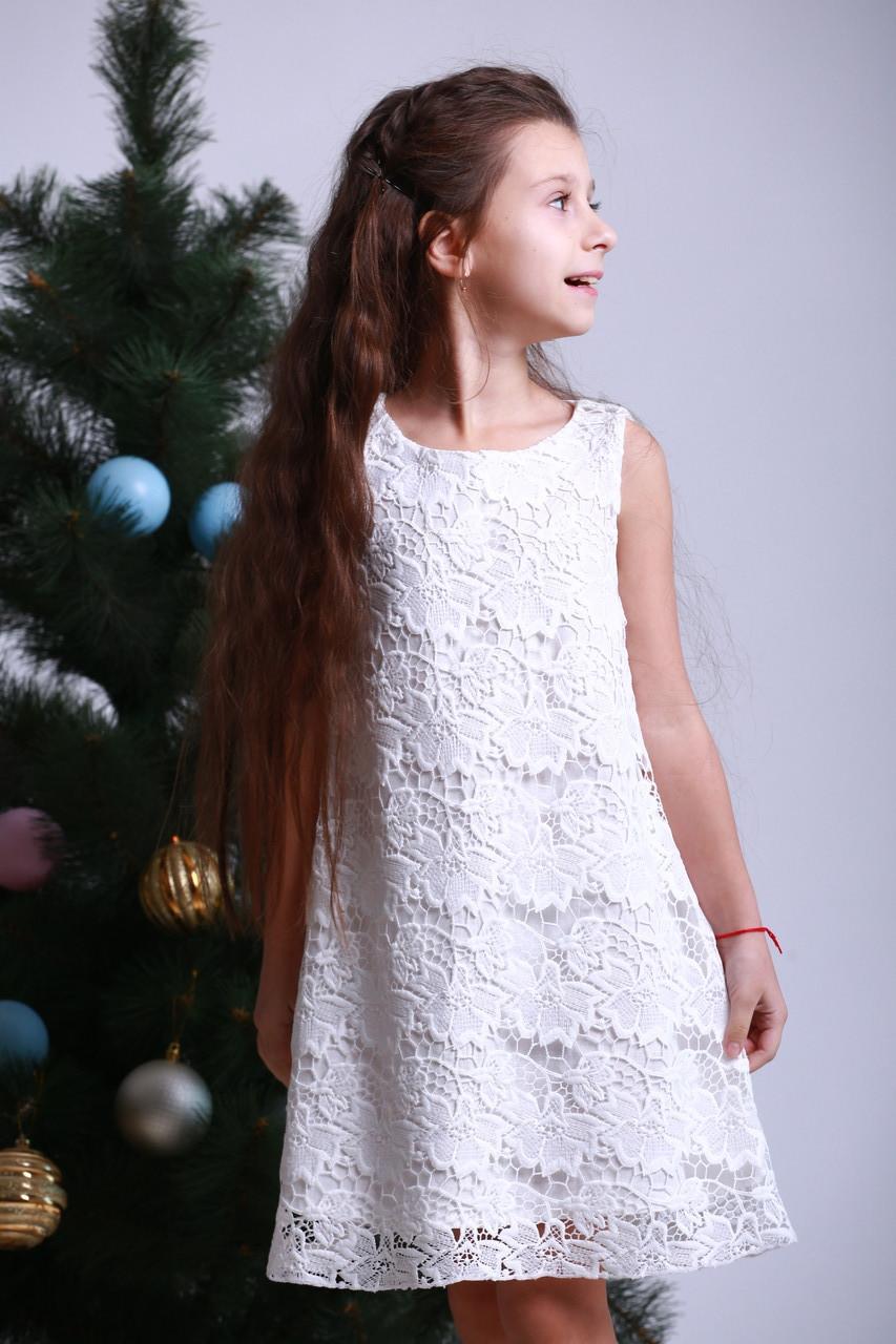Платье детское « А силуэт кружево »
