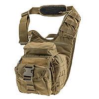 Тактическая плечевая сумка EDC L Coyote