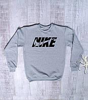 Мужской зимний спортивный свитшот на флисе, кофта Nike Air Max, Реплика