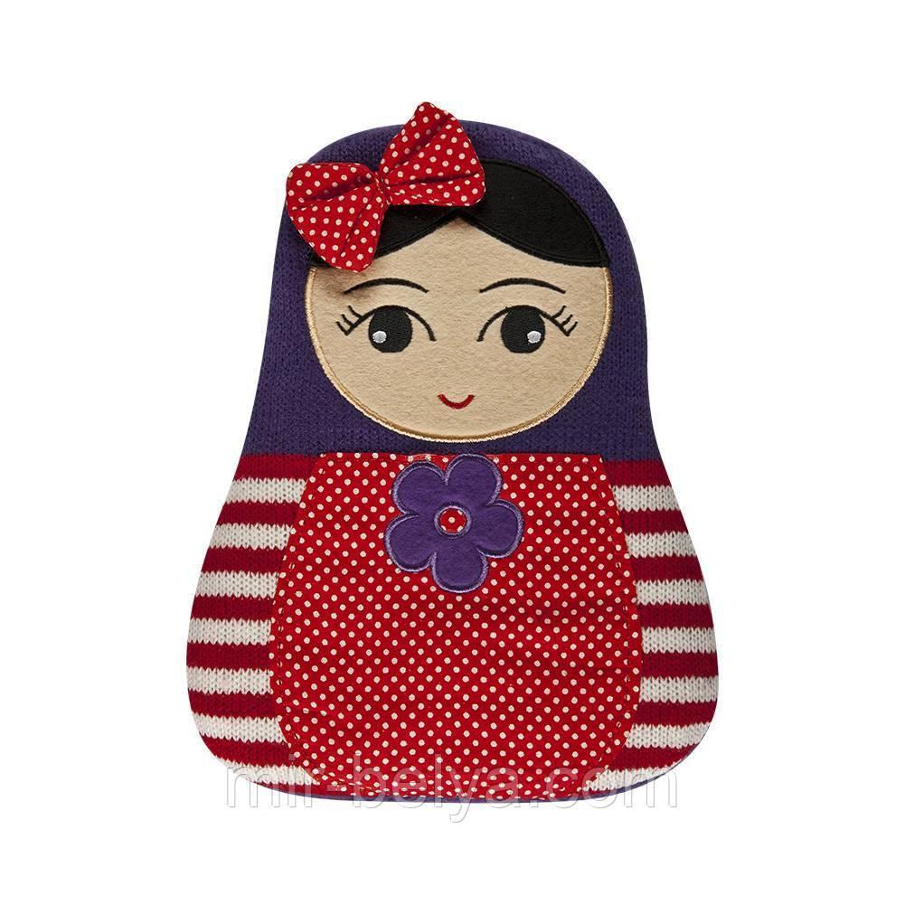 Мягкая игрушка - грелка SOXO матрешка в подарочной упаковке
