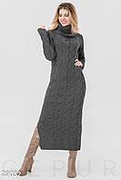 Длинное платье-свитер Gepur 29032