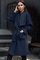 Стильное пальто на запáх Gepur 29021