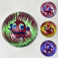 """Мяч резиновый F 21998 (400) """"Пчёлки"""", размер 9``, 60 грамм, 4 цвета"""