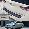 Toyota Auris 5dr 2015> пластиковая накладка заднего бампера