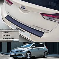 Toyota Auris 5dr 2015> пластиковая накладка заднего бампера, фото 1
