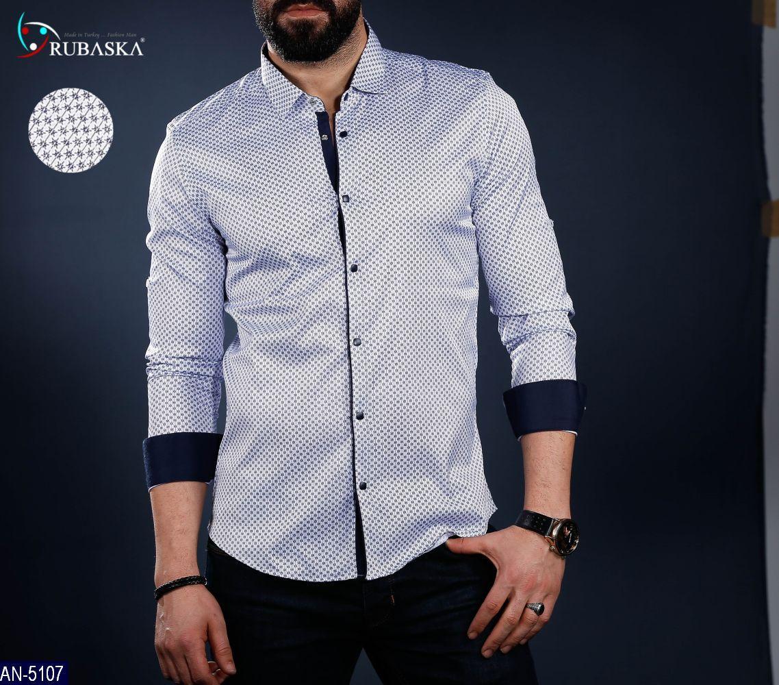 94ca33e9ffa Мужская рубашка Rubaska Турция длинный рукав