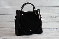 Женская сумка-шоппер B.Elit (Б. Элит), черный цвет, фото 1