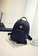 Рюкзак мини женский Plump black