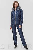 Зимний костюм с капюшоном Gepur 28846