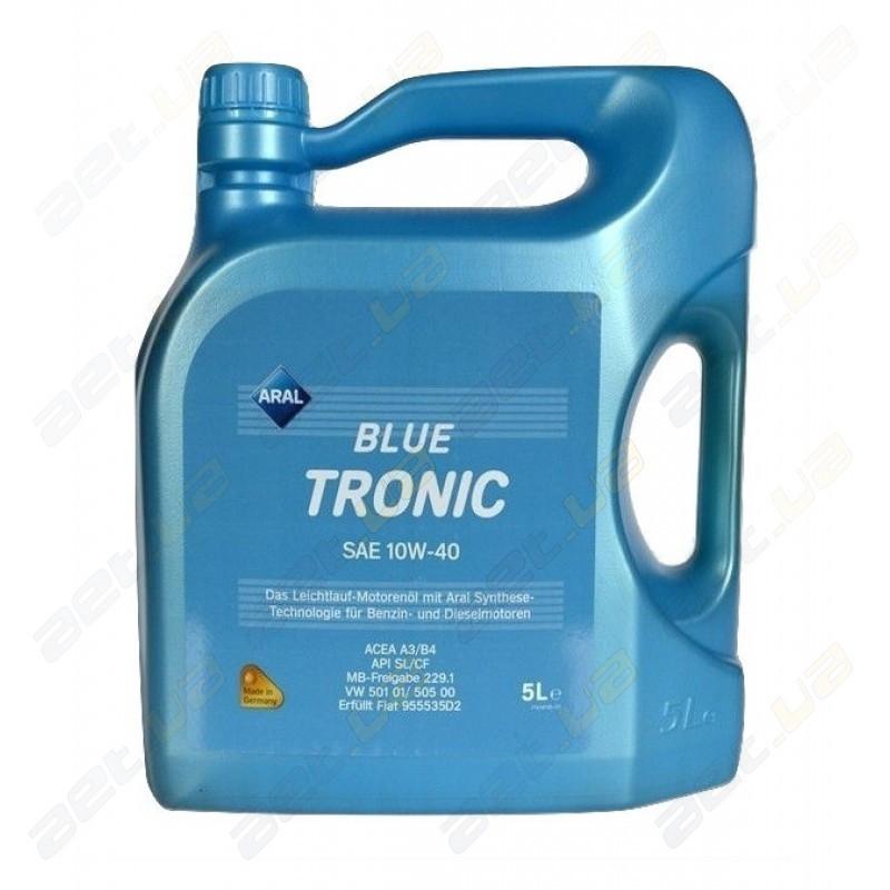 Масло моторное Aral Blue Tronic 10w40 5л
