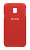 Чехол Silicone Cover Samsung Galaxy J330 (J3-2017) (Red)