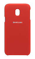 Чехол Silicone Cover Samsung Galaxy J330 (J3-2017) (Red) , фото 1
