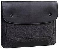 b26a3f4065a1 Чехол для ноутбука Gmakin Felt Cover for Macbook 15 black GM01-15