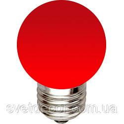 Світлодіодна лампа LED Feron LB-37 1W 220V біла, кольорова для гірлянд белт лайт