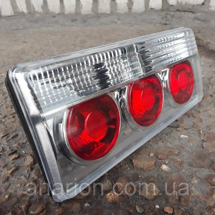 Задние стопы на ВАЗ 2105 и ВАЗ 2107 (хром) Грэй №1