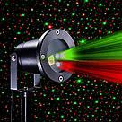 Лазерный проектор Holiday Laser Light с пультом Star Shower гирлянда звёздный уличный звезды новогодний лазер, фото 2