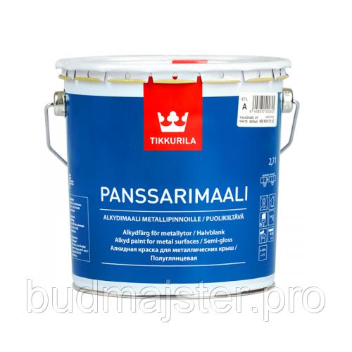 Фарба алкідна Tikkurila Пансарімаалі БС, 2,7 л
