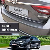 Toyota Avensis 4dr sedan 2015> пластиковая накладка заднего бампера, фото 1