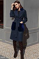 Пальто в классическом стиле Gepur 28604