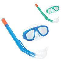 BW Набор для плавания 24018  маска, трубка, 2 цвета