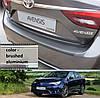 Toyota Avensis 4dr sedan 2015> пластиковая накладка заднего бампера