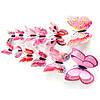 Наклейки бабочки Розовые (076114)