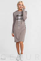 Комфортное платье-туника Gepur 28445