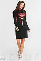 Платье с орнаментом Gepur 28441