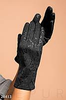 Перчатки с узорами Gepur 28413