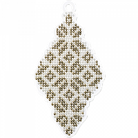 Набор для вышивания бисером на пластиковой основе FLPL-001